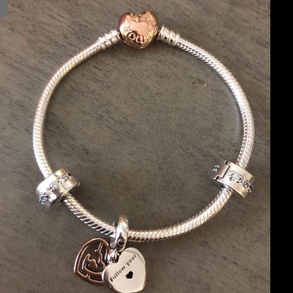 Pandora fun in love gift bracelet set